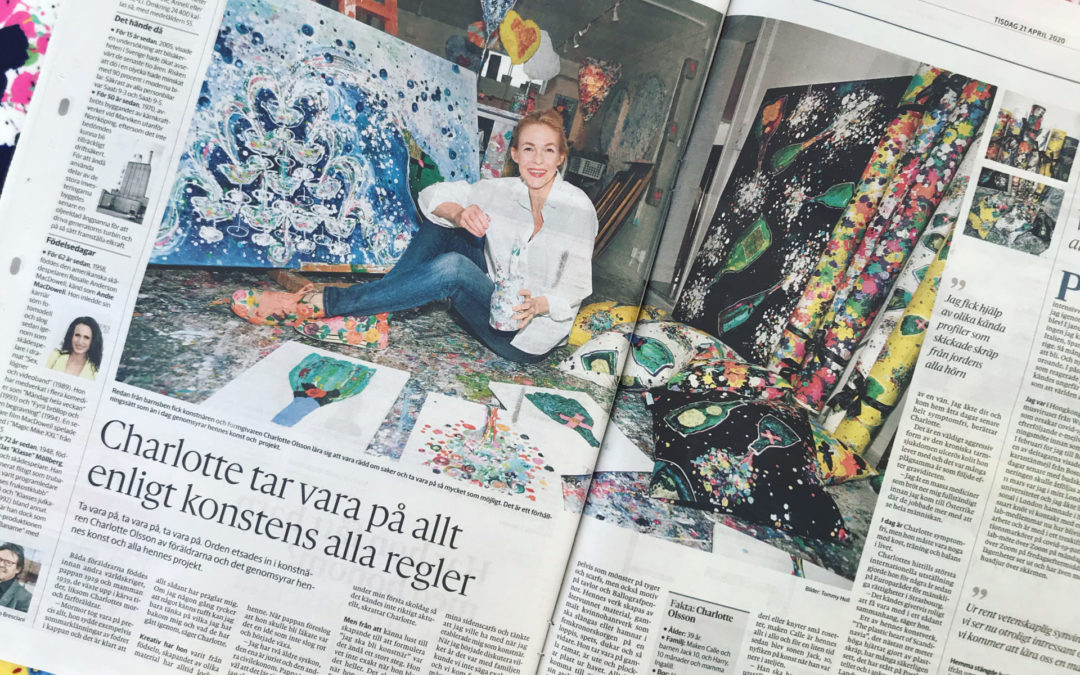 Lovely article in Göteborgs Posten